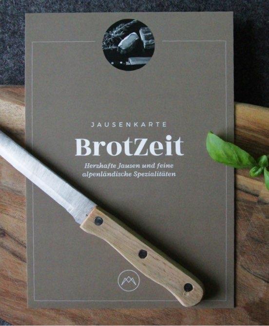 Jausenkarte BrotZeit