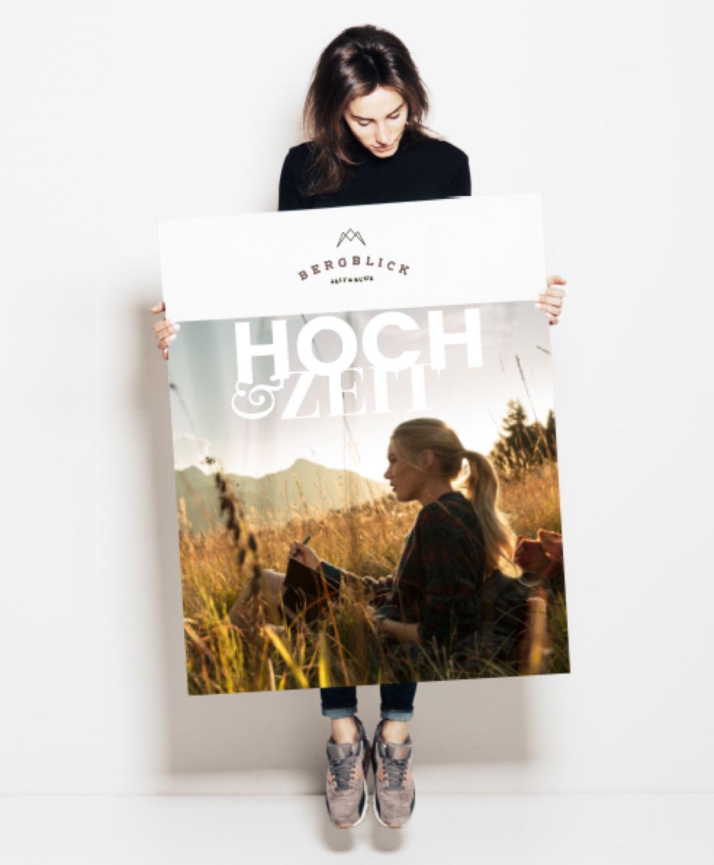 Plakat HochZeit