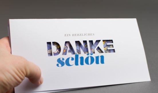 Oeding Danke schön-Karte