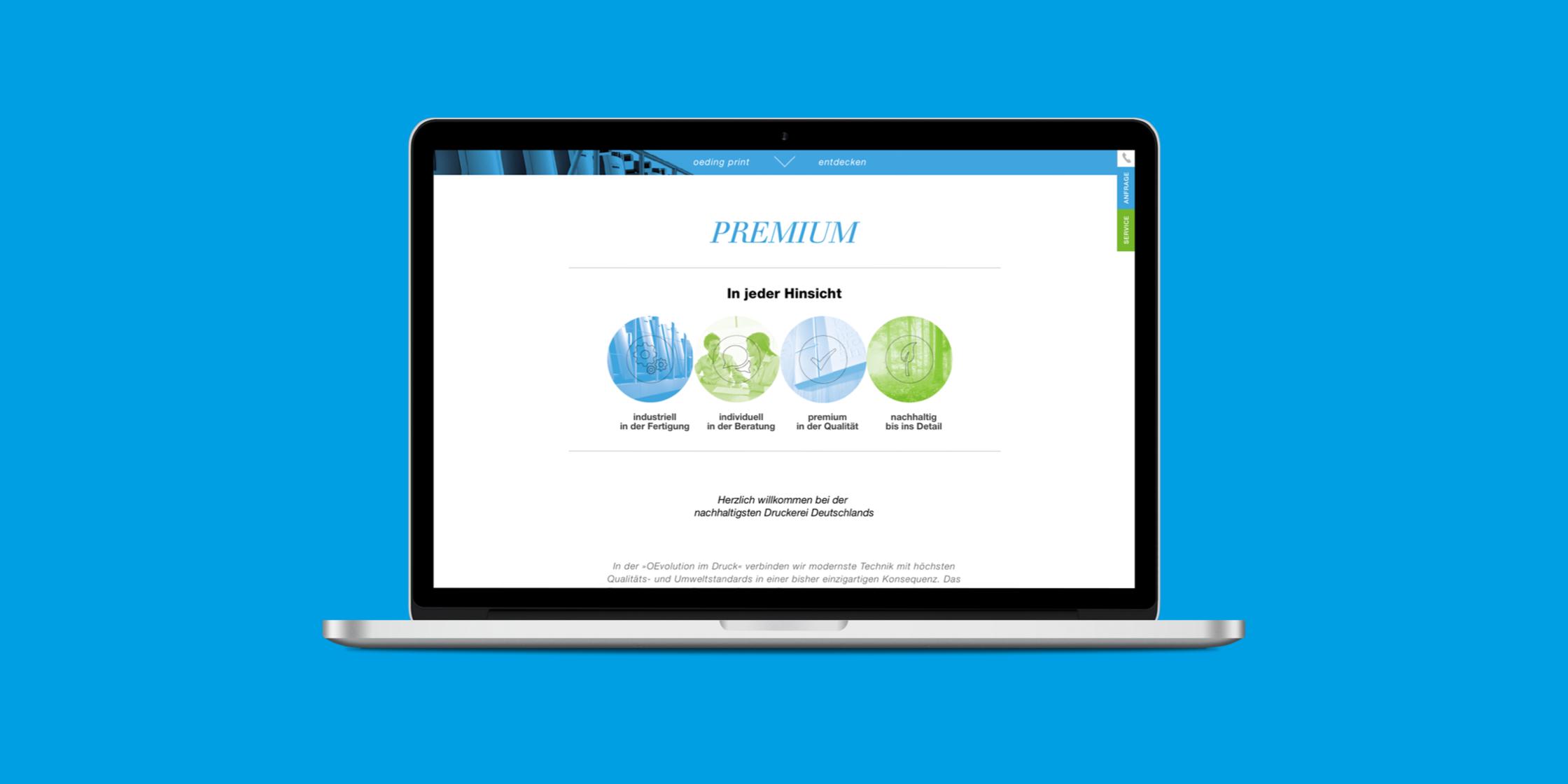 Oeding Website