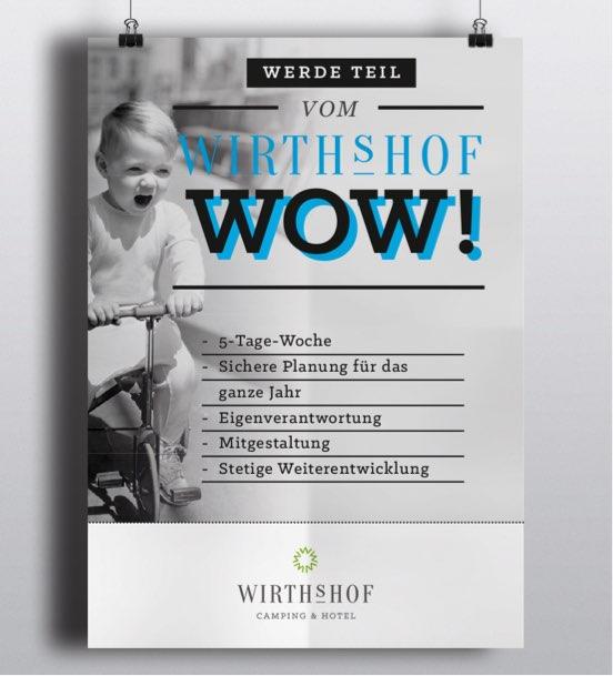 Wirthshof Arbeitgebermarke Poster