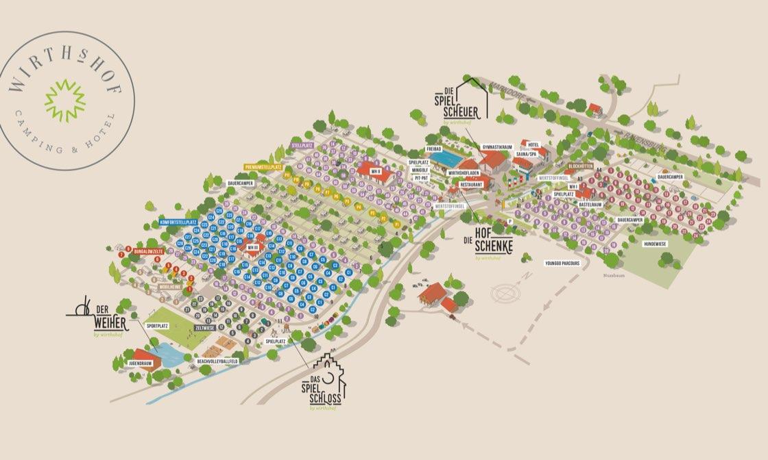 Wirthshof Lageplan