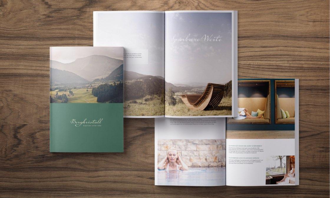 Bergkristall Broschüre