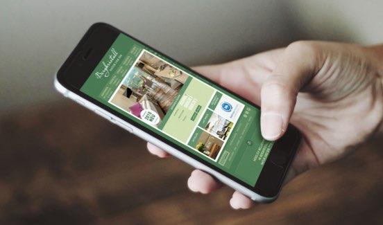 Bergkristall Website mobil
