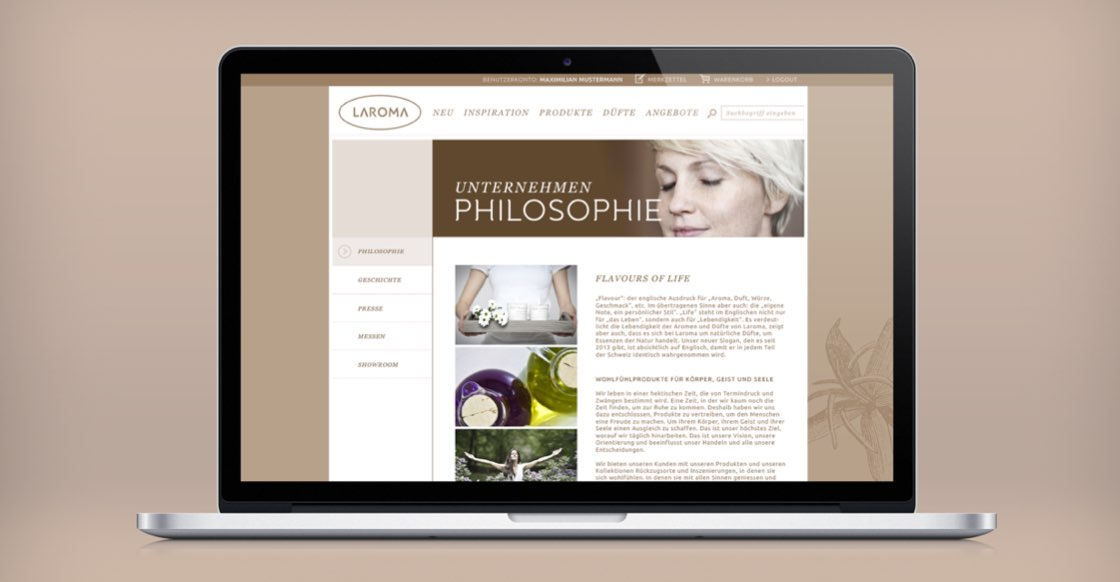 Laroma Website