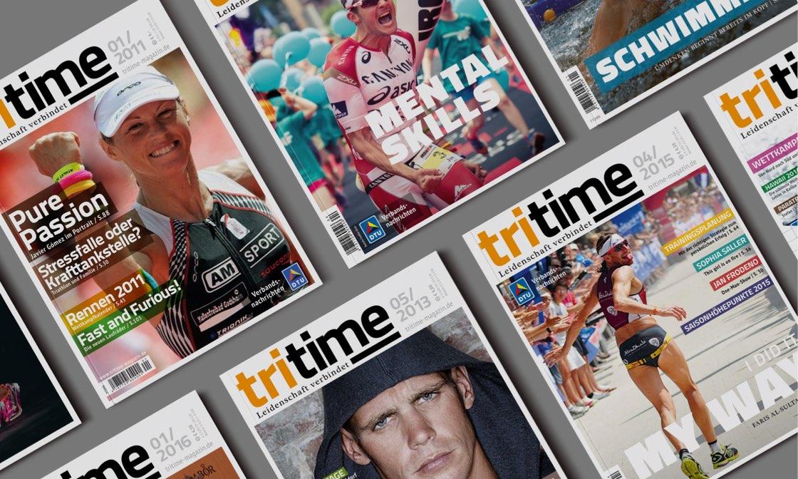 Tritime Magazintitel