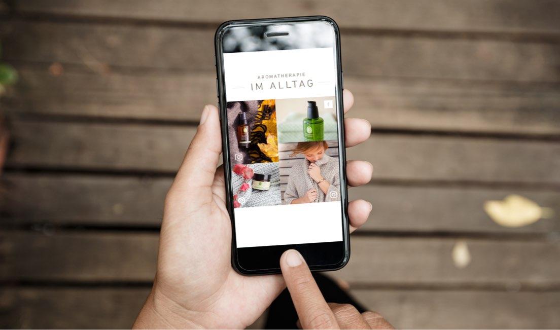 primavera website mobil