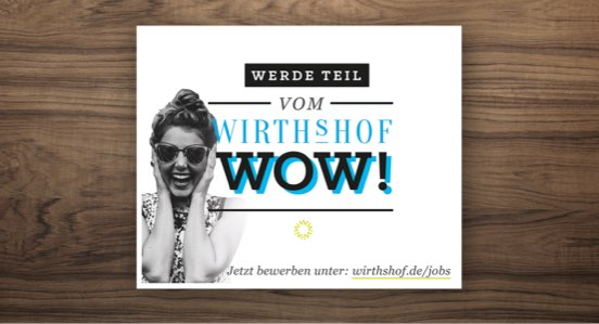 Wirthshof Arbeitgebermarke