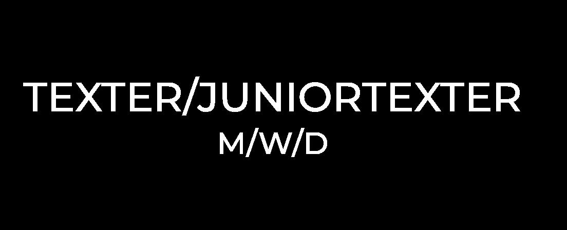 Texter Juniortexter