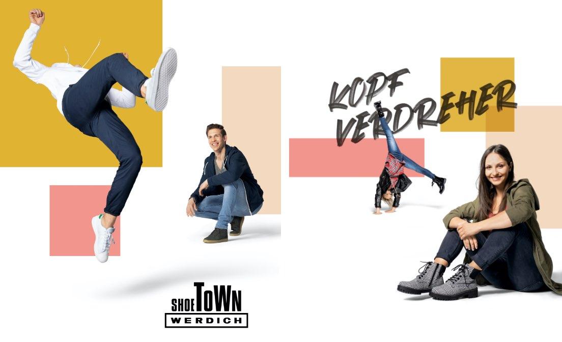 Werdich Shoetown Kampagne