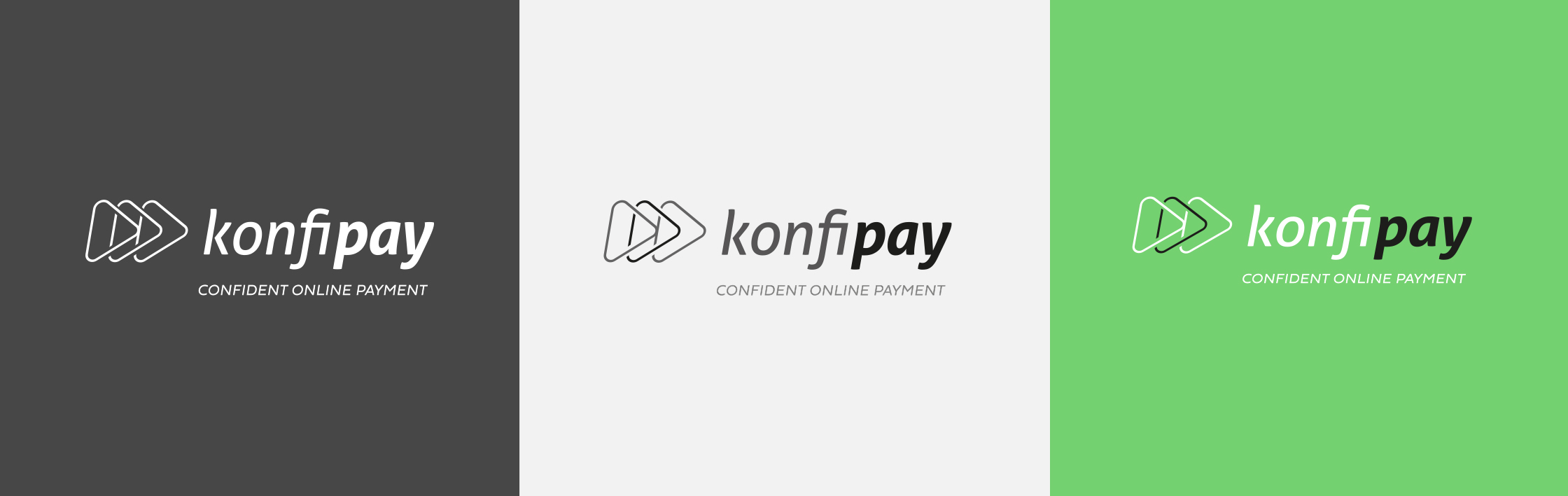 Konfipay Logovarianten