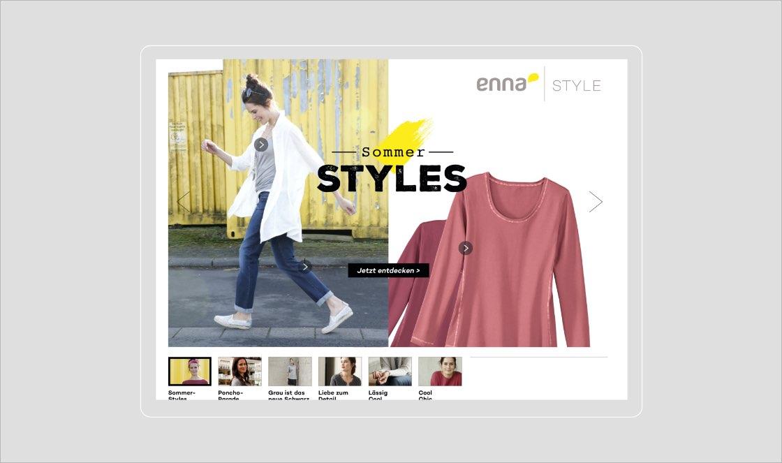 Enna-Style Web
