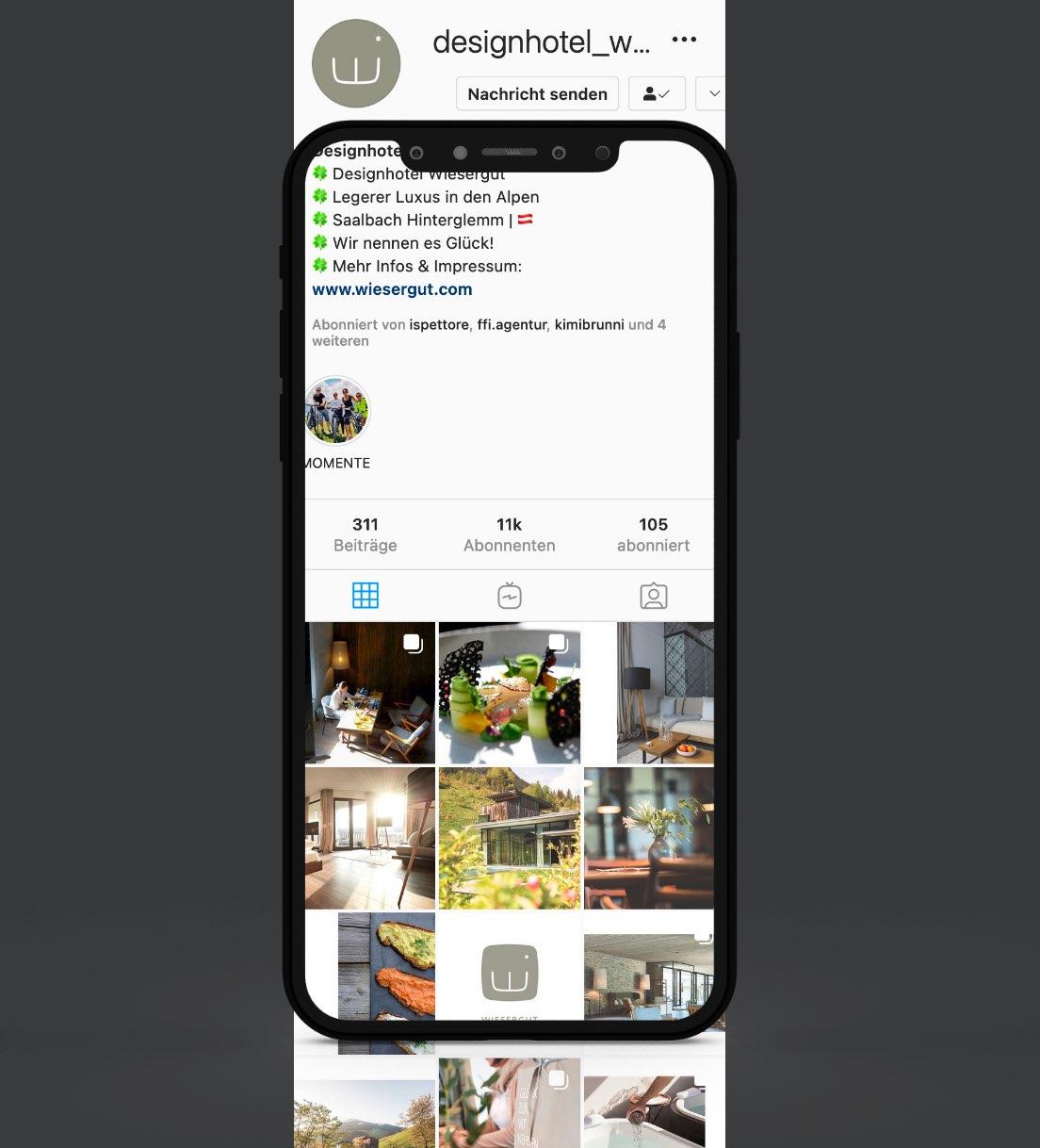 Wiesergut Instagram